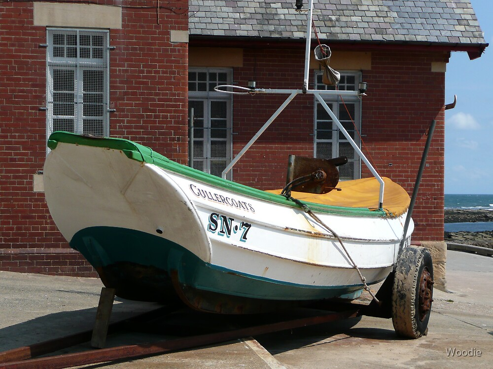 SN.7 Coble. James Denyer (Fishing boat)  by Woodie