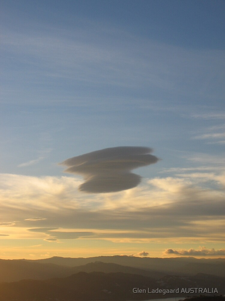 UFO Cloud in Andalusia by Glen Ladegaard AUSTRALIA