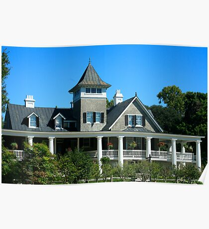 The Masters House - Magnolia Plantation Poster