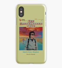 STEVE'S SCARY SITUATION - Stranger Things x BSC iPhone Case/Skin