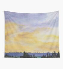 Storm Rollin In Wall Tapestry