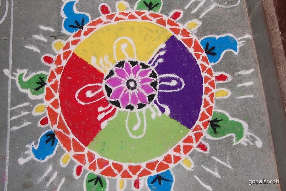 rangoli by gopalshroti