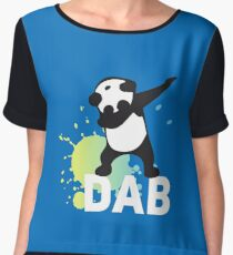 DAB keep calm and dab dabber dance football touch down Women's Chiffon Top