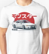Monster. Skyline R32 GTR Slim Fit T-Shirt