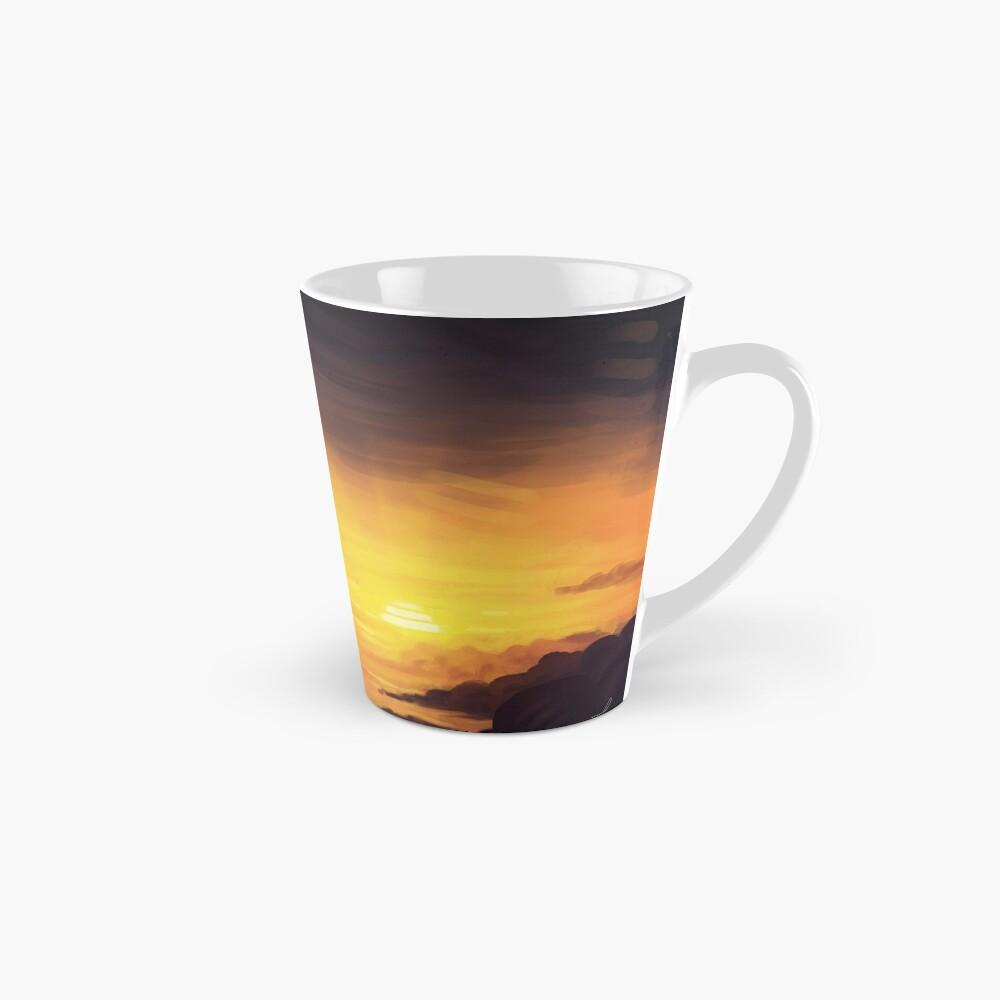 Into the sunset.  Tall Mug