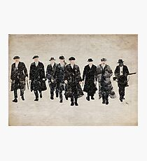 Peaky Blinders watercolour Photographic Print