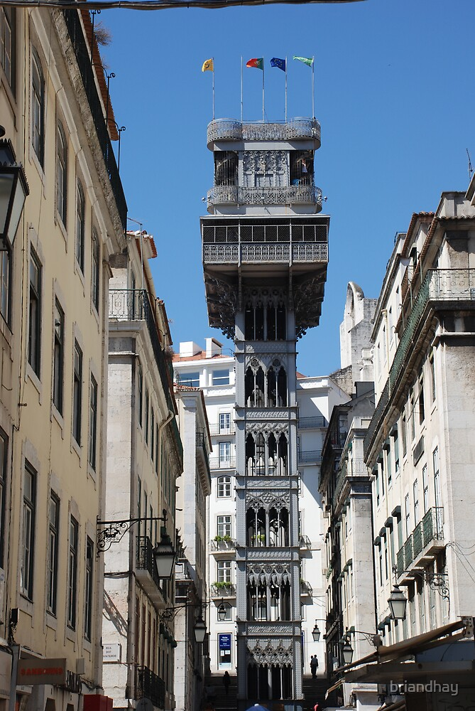 tower in Lisbon by briandhay