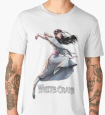 kung fu girl comic book T-shirt Men's Premium T-Shirt