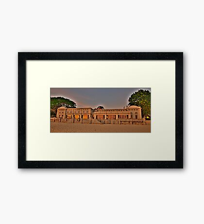 Bathers Pavillion - Balmoral - The HDR Series Framed Print