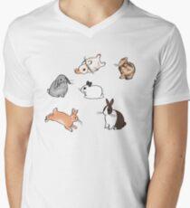 Bunnies V-Neck T-Shirt