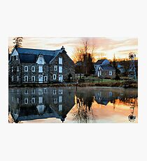 Reflection at Wagner Mill Photographic Print
