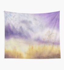 Autumn & Purple Velvet Wall Tapestry