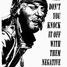 Kelly's Heroes - Oddball Says (black on colour) by ArtAvenell