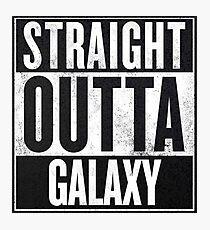 Straight Outta Galaxy Photographic Print