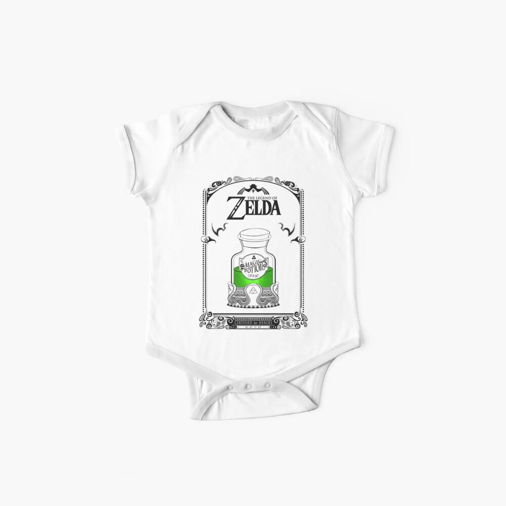 Leyenda de zelda - poción verde Body para bebé