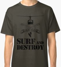 SURF AND DESTROY 2 Classic T-Shirt