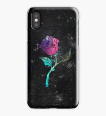 Stained Glass Rose Galaxy iPhone Case
