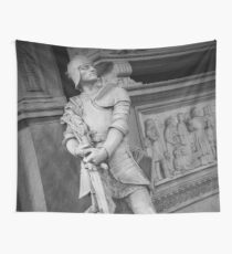 Stone Warrior Wall Tapestry