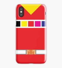 In Space Red iPhone Case/Skin