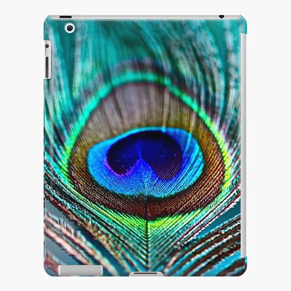Pluma de pavo real Funda y vinilo para iPad