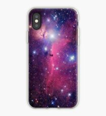 Purple Galaxy iPhone Case