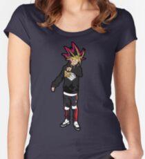 Yugi Hypebeast Women's Fitted Scoop T-Shirt