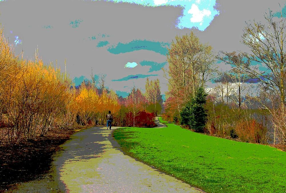 Colorful Path by Corey Bigler