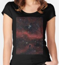 Pink Galaxy Women's Fitted Scoop T-Shirt