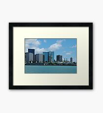 Honolulu Framed Print