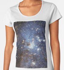 Blue Galaxy Women's Premium T-Shirt
