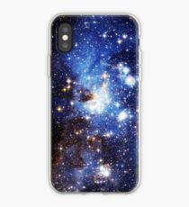 Vinilo o funda para iPhone Blue Galaxy 3.0