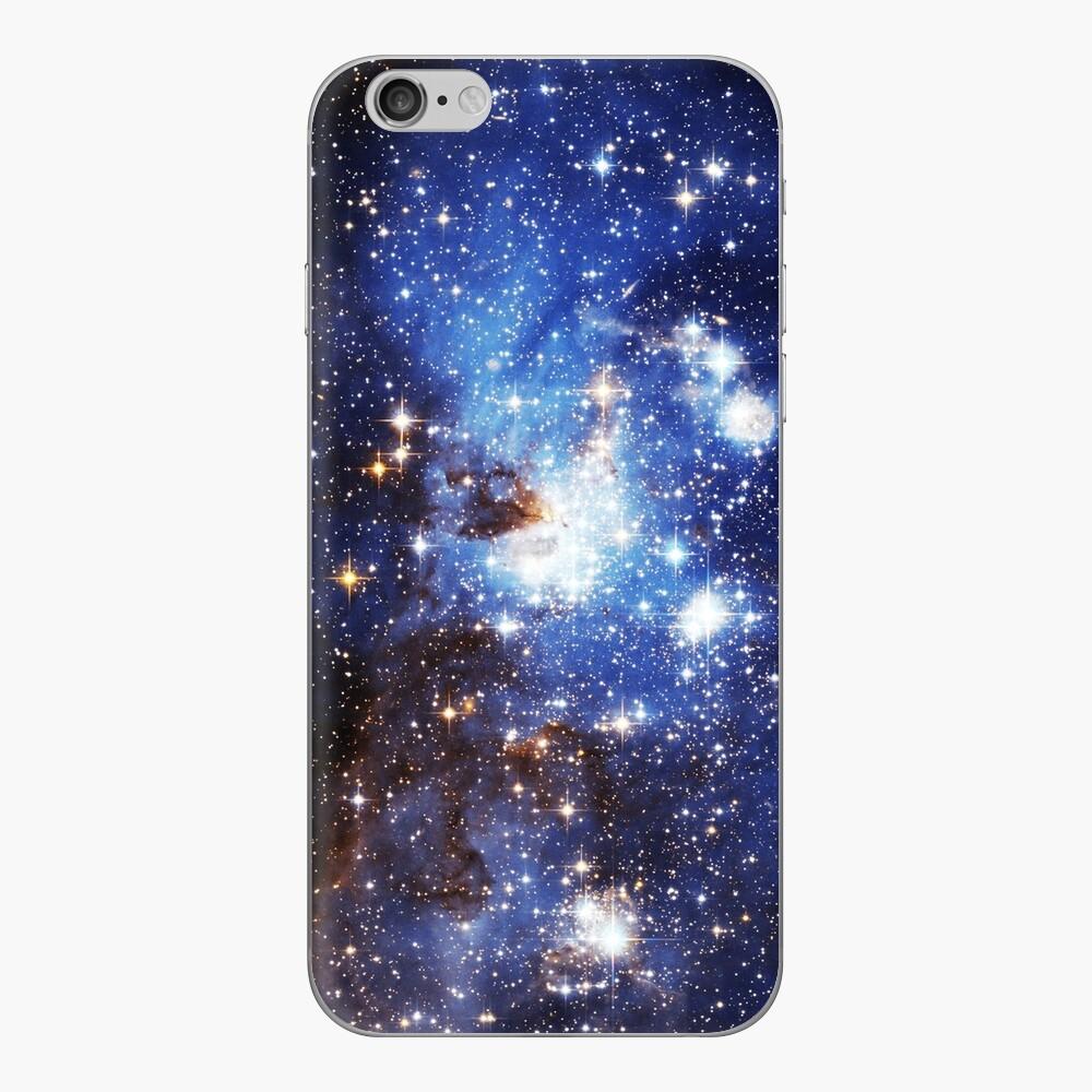 Blaue Galaxie 3.0 iPhone Klebefolie