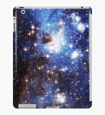 Blaue Galaxie 3.0 iPad-Hülle & Klebefolie