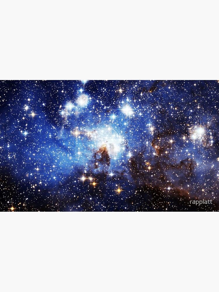 Blaue Galaxie 3.0 von rapplatt