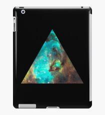 Green Galaxy Triangle iPad Case/Skin