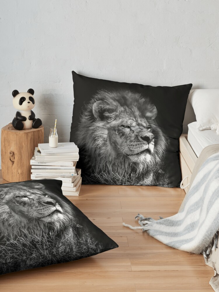 Alternate view of Proud Young Lion Floor Pillow