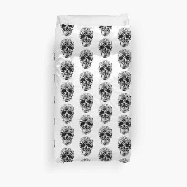 Crystal Skull Infrared Duvet Cover