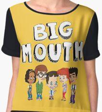 Big Mouth - Netflix Women's Chiffon Top