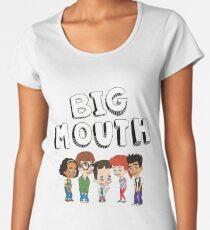 Big Mouth - Netflix Women's Premium T-Shirt