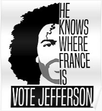 Vote For Jefferson Poster