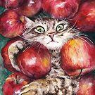 Apple Cat by AnnaShell