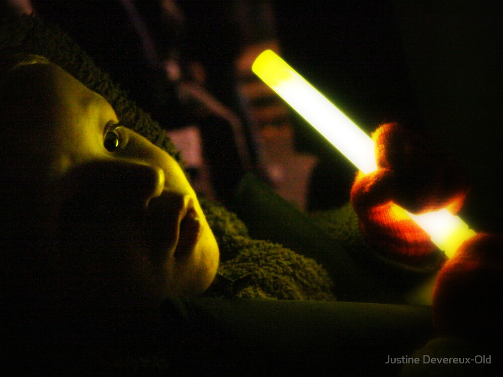Light of my life.. by Justine Devereux-Old