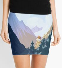 Norway - The Travellers Mini Skirt