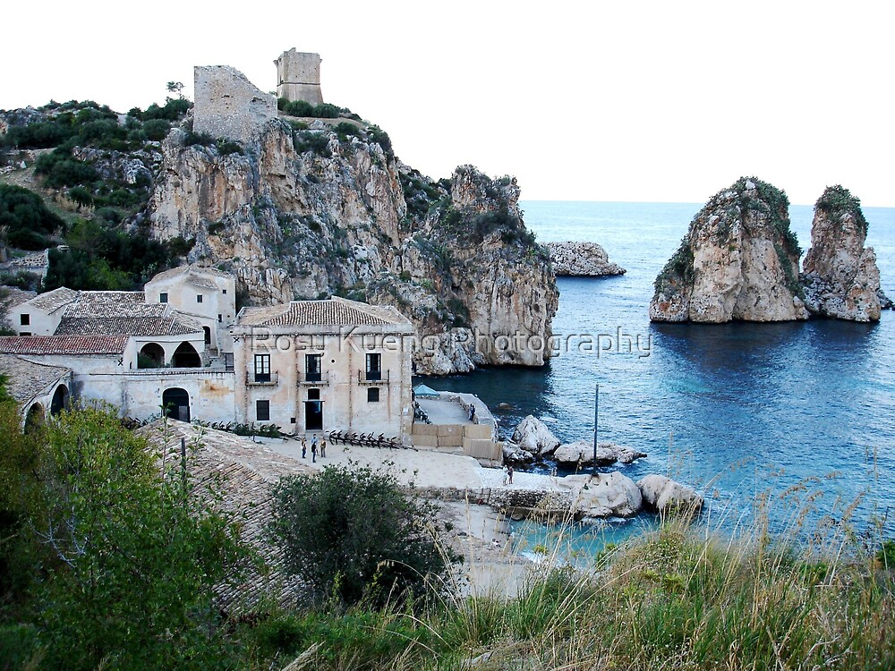 Tonnara di Scopello by Rosy Kueng Photography
