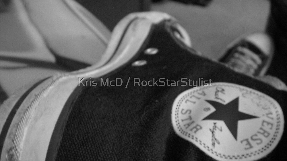 original chucks rule! by Kris McD / RockStarStylist