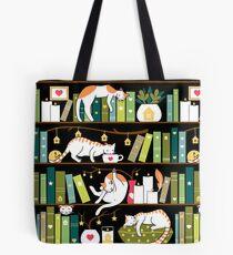 Bibliothekskatzen Tote Bag