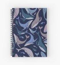 Cuaderno de espiral Escuela de ballenas