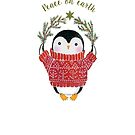 Peace Penguin by Janet Broxon