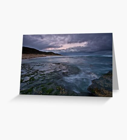 The Ocean Swallowed Her Soul... Greeting Card