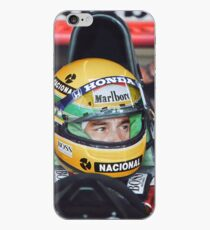 Ayrton Senna at the 1991 US Grand Prix iPhone Case